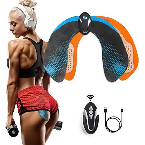 Electroestimulador Muscular EMS Hips Estimulador Muscular,Gluteos Estimulador de Glúteos Herramientas Nalgas para la Mujer Inteligente Instructor Modelling Firing Ayuda a Levantar la Cadera