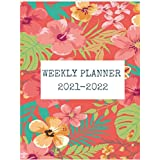Simple Planners Weekly Planner: Planner Schedule Organizer Inspirational Quotes | Weekly & Monthly View (2021-2022 Academic Planner)