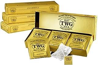 シンガポールの高級紅茶TWGシリーズ(Chamomile - カモミール15ティーパック)並行輸入品