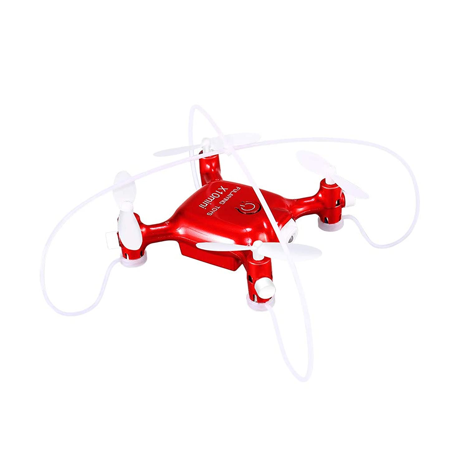 Chercherr RC Drone, Altitude Hold RC Drone Innovative Selfie Drone Mini 2.4Ghz WiFi 4CH Phone Control Quadcopter with LED Light Headless Mode 3D Flip One Button Takeoff/One Button Return (Red)