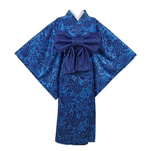MLYWD Japanse Traditionele Kostuums Jurk Fotografie Cosplay Kostuum Kimetsu geen Yaiba Hashibira Inosuke Dagelijkse Casual Kimono Suits met Accessoires Optionele Pruik