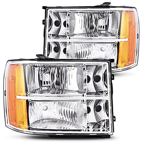 07 gmc sierra classic headlights - 9
