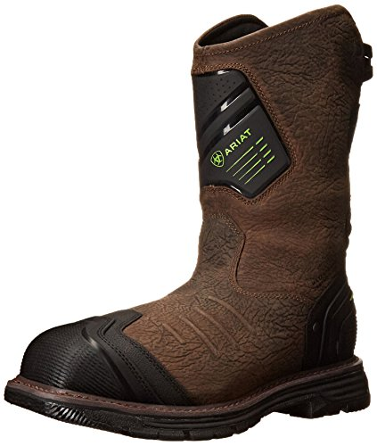 Ariat Men's Catalyst VX Wide Square Toe H2O Composite Toe Work Boot, Bruin Brown, 11 D US