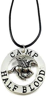 Último Olímpico Campamento Mestizo Percy Pegasus Zeus Mitad Collar Sangre - Percy Colgante