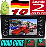 KasAndroid AUTORADIO Android 10 Compatible avec Audi A6/S6/RS6 Quad Core, 2GB RAM, 16GB ROM GPS Radio Voiture WiFi 4g CD SD DVD navigateur Mirror Link USB (1997 1998 1999 2000 2001 2002 2003 2004)