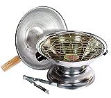 Aluminium Multi Purpose Oven, Gas Tandoor, Barbeque Griller/Bati/Pizza Maker Set of 1 Pc