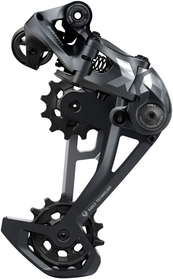 Sram XX1 Eagle Trigger 12-Speed Rear Shifter with Discrete Clamp Black