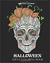 Halloween Adult Coloring Book (Coloring Books for Adults)
