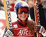 LINDSEY VONN USA DOWNHILL SKIIER 8X10 HIGH GLOSSY SPORTS ACTION PHOTO (N)