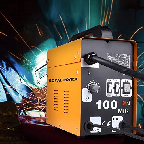 Royal Power MIG 100 Poste à souder ventilé avec fil continu sans gaz