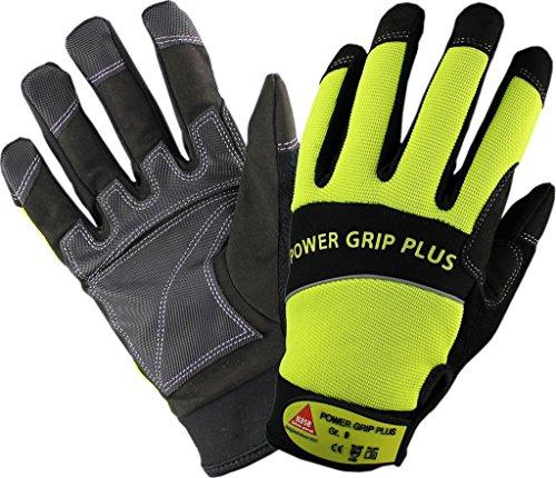 Handwerker-Handschuh POWER GRIP PLUS Stichfest - Neopren-Gewebe - Gr. 10