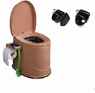 Portable Bedside Toilet, Bedside Commode/Mobile Toilet/Portable Toilet Camping/Multifunction Toilet, Movable Indoor Squat ...