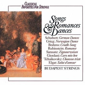 Classical Favorites For Strings: Songs, Romances & Dances
