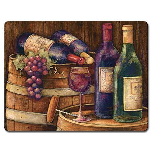Wine Cellar - Large Glass Cutting Board