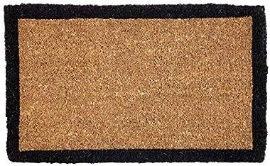 100% Coir Doormat | Entry Mat | Welcome Mat | Four Corners (60x90 cm)