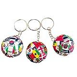 hefeilzmy Sports Ball Key Chain Soccer Ball Keychains (3)