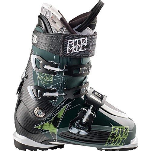 Atomic Waymaker Carbon 110 Ski Boot - Men's Dark Green/Black, 26.5 by Atomic