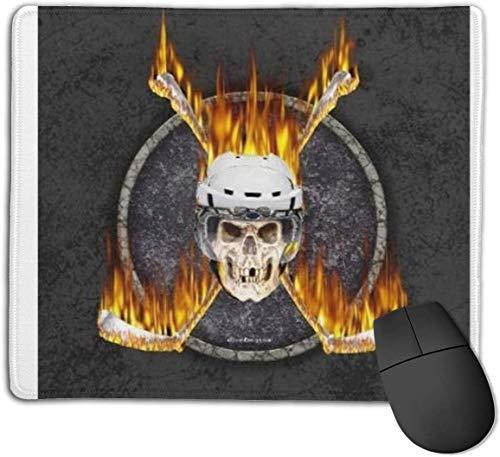 Mauspad, rutschfestes, wasserdichtes Mousepad auf Gummibasis für Laptop-Hockeyschläger (3)
