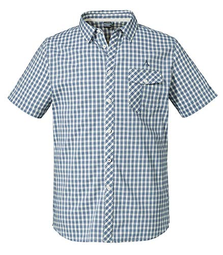 Schöffel Miesbach4 T-Shirt Homme, Bering Sea, FR : XL (Taille Fabricant : 54)
