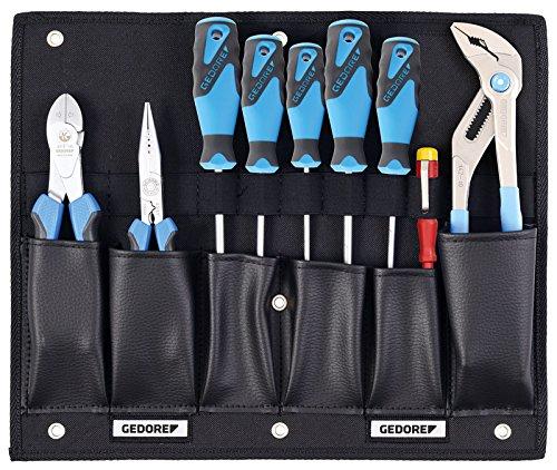 GEDORE 1100 W-001 Werkzeugkarte mit Zangen/Schraubendreher-Sortiment