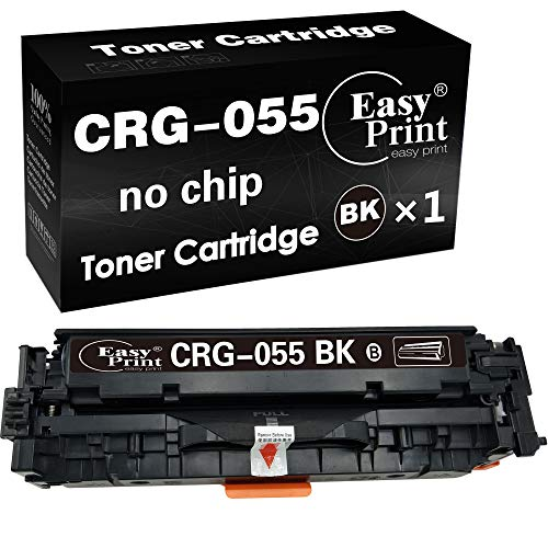 Price comparison product image (1-Pack,  Black,  No Chip) Compatible Cartridge 055 Toner Cartridge CRG-055 Toner Used for Canon LBP664Cdw imageClass MF740Cdw MF741Cdw MF743Cdw MF745Cdw MF746Cdw Printer,  by EasyPrint