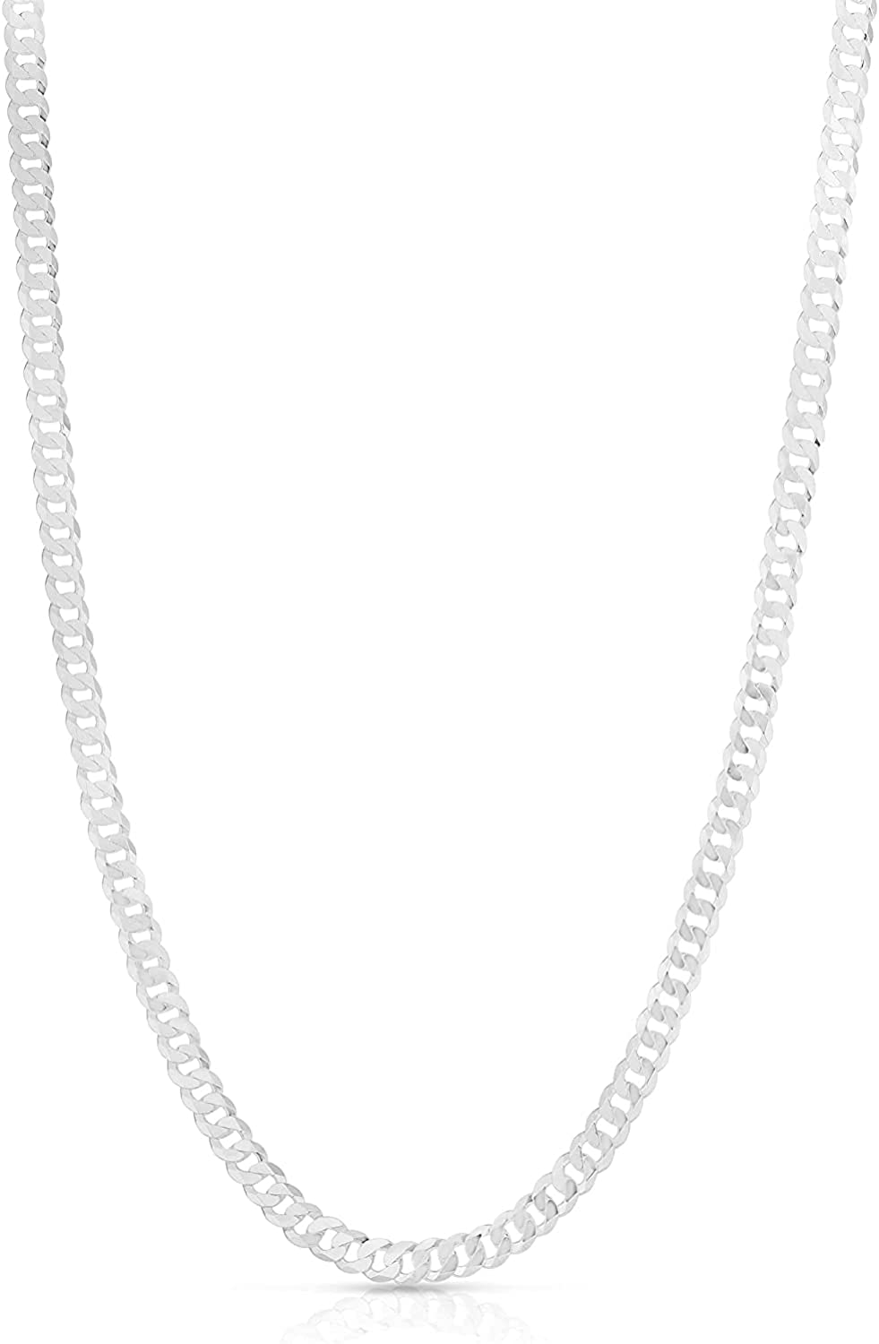 ROYAL PHASE Italian Popular overseas 925 Sterling Link Silver Cuban Curb Milwaukee Mall