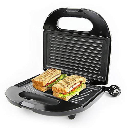 Plancha eléctrica para el hogar, máquina de desayuno, sándwich, hamburguesa, panqueques, placa para hornear, tostadora de pan, calefacción de doble cara