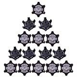 20PCS Easy to Change Studs,Universal Anti Skid Golf Shoes Spikes Soft Spike Replacement Cleats Golf...