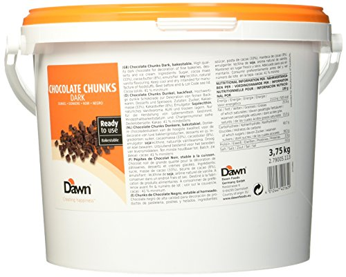 Dawn Chocolate Chunks dunkel,  3.75 kg
