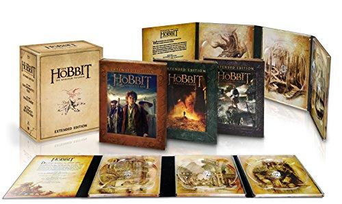 Der Hobbit: Die Spielfilm Trilogie (Extended Edition exklusiv bei Amazon.de) [Blu-ray]