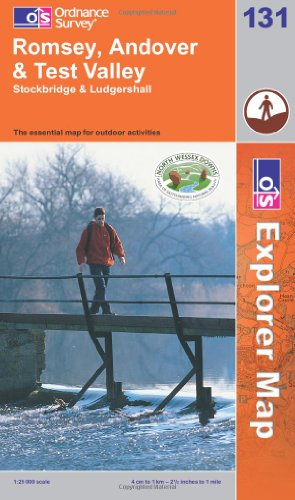 OS Explorer map 131 : Romsey, Andover & Test Valley