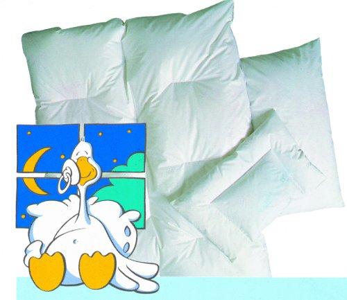 ARO 9033310 Parure de lit pour enfant Plumes et duvet 100 x 135 cm et taie d'oreiller 40 x 60 cm