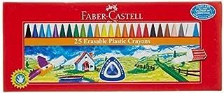 Faber - Castell 25 Triangular Erasable Crayons - Styledivahub®