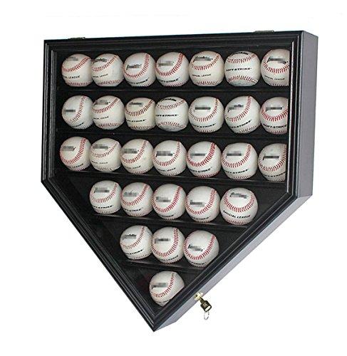baseball wall mount display case - 1