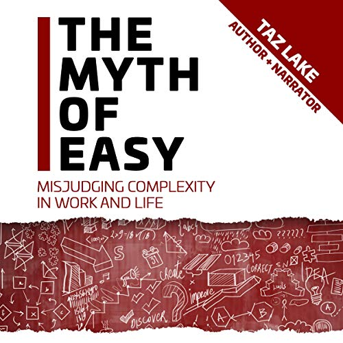 The Myth of Easy audiobook cover art