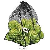 [24 Balles de tennis Premium + Filet de transport géant Offert] Toutes Surfaces , Qualité Professionnelle - Pour joueurs exigeants - Contrôle - Vivacité - Durabilité - Pour Entraînements et matchs
