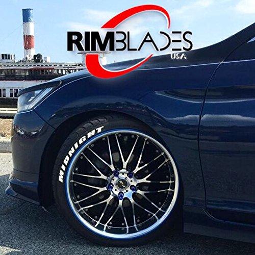 Rimblades - Protectores de llantas de aleación de ruedas de coche, de goma