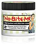 SALLYEANDER No-Bite-Me Natural Bug Repellent & Anti Itch Cream - Safe for Kids and Infants - Repels Mosquitoes, Black Flies, Fleas, and Ticks - 2 oz