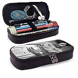 Estuche para lápices Harry-Styles Organizador de papelería de gran capacidad Almacenamiento Bolsa de maquillaje Estuche para caja con cremallera