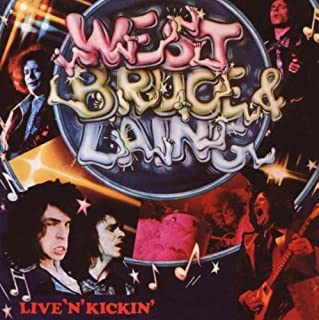 Live N Kickin by West Bruce & Laing [Music CD]