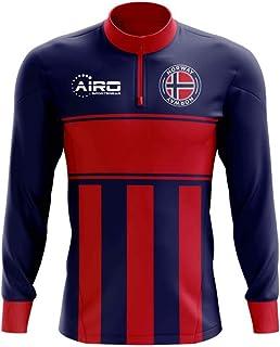 e104098aea6 Airo Sportswear Norway Concept Football Half Zip Midlayer Top (Blue-Red)
