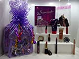 Samantha 2pc Perfume For Women + 10pc Make Up Products - Mix Brands, Gift Wrapped Gift Hamper For Her