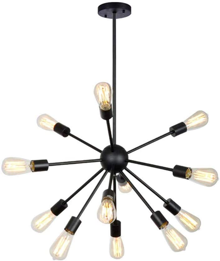 Sputnik Dallas Mall Chandelier 20 Lights Ranking TOP7 Pendant Painted Mo Black Lighting