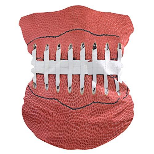 SunsetTrip American Football Laces Multifunktionstuch Bandana Schal Gesicht Staub UV Hals Gaiter Stirnband Kopfbedeckung Halstuch für Sport Wandern Laufen Motorrad