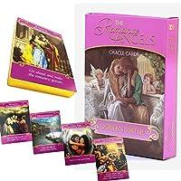 神秘的なロマンチックな天使のカード、愛のガイド/運命予測のタロットカード、44の金色のロマンチックな天使のタロットカード、絶版のゲームギフト、子供のおもちゃのタロットカード、英語版