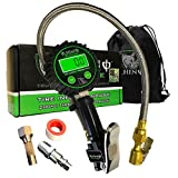 Rhino USA Digital Tire Inflator with Pressure Gauge (0-200 PSI) - ANSI B40.1 Accurate, Large 2' Easy Read Glow...