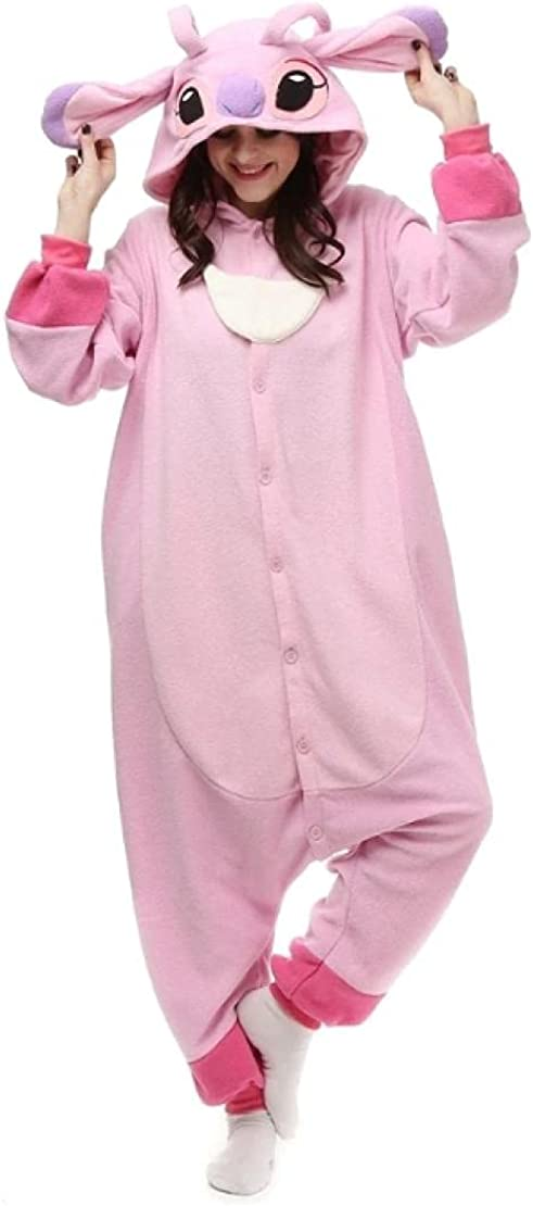 LONYENMA free Adult Pajamas Cartoon Fleece For Overall Onesies New color Onesie