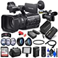 Sony HXR-NX200 Full HD NXCAM Camcorder PAL + Sandisk Ultra 64GB Card + NPF970 Battery + LED Light + Pro Case + Telephoto Lens + Wide Angle Lens + External Charger + Card Reader + More (Renewed) from Sony