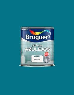 Pintura brillante para azulejos Bruguer (Azul Egeo