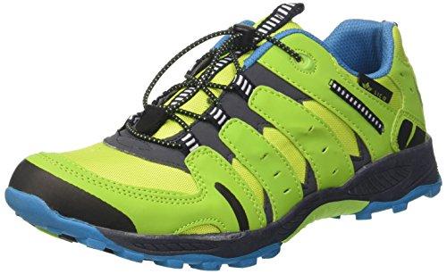 Lico Fremont, Chaussures de Randonnée Basses, Bleu (Lemon/Marine/Petrol Lemon/Marine/Petrol), 35 EU